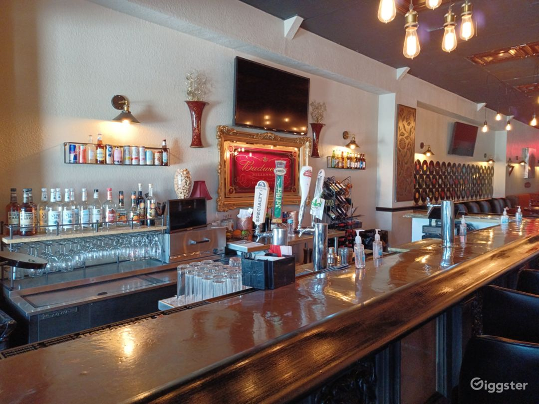 Copper Top Bar with craft beer, Wine and specialty drinks.