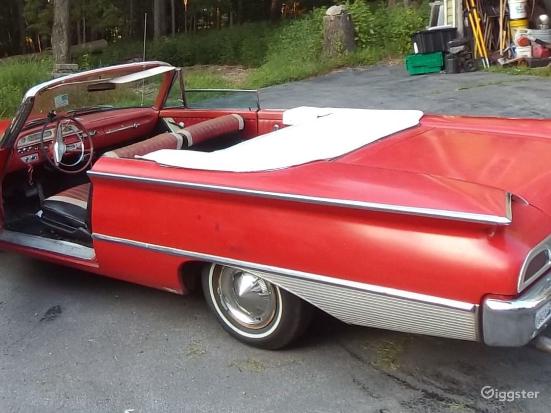 1960 Ford Sunliner convertible Photo 5