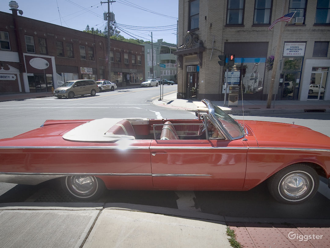 1960 Ford Sunliner Convertible Rent This Location On Giggster