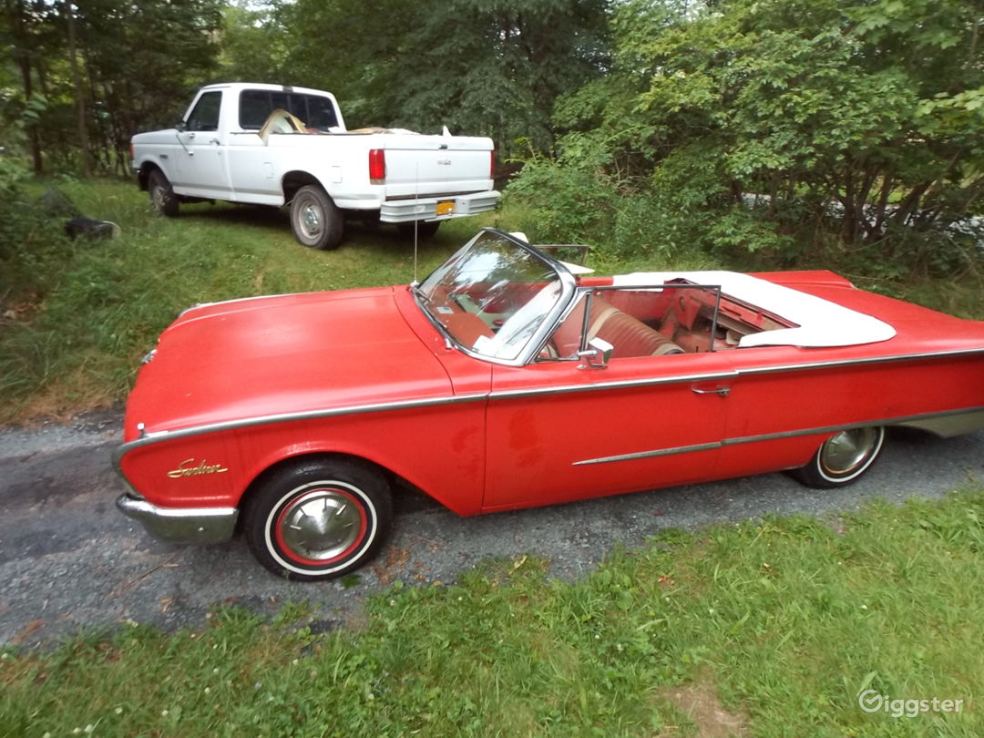 1960 Ford Sunliner convertible Photo 4