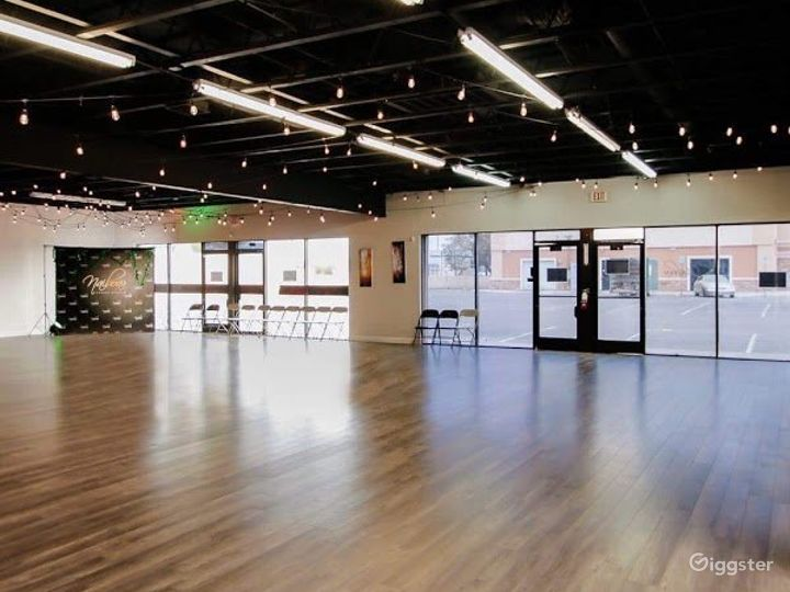 Stunning Creative Dance Studio for Events and Productions in Vegas
