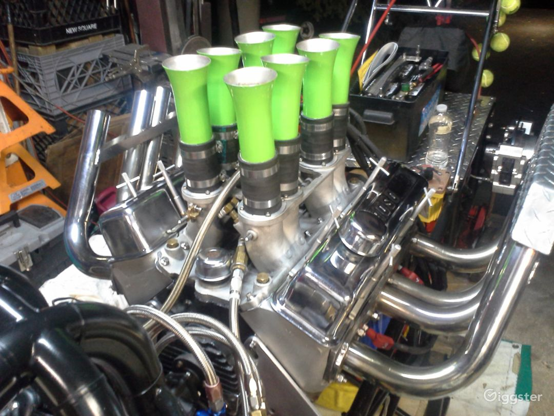 Power Plant is a Small Block Chevy Alky Injected