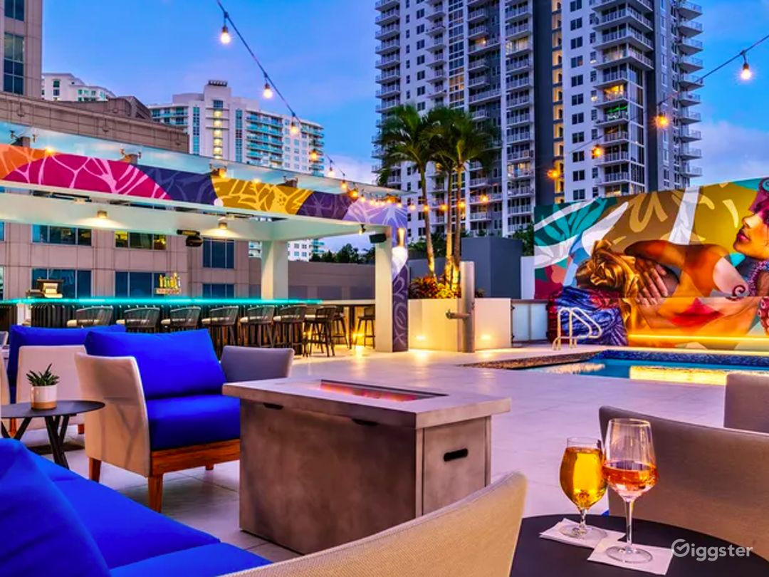 Luxurious Terrace at Waterfront Hotel Photo 1
