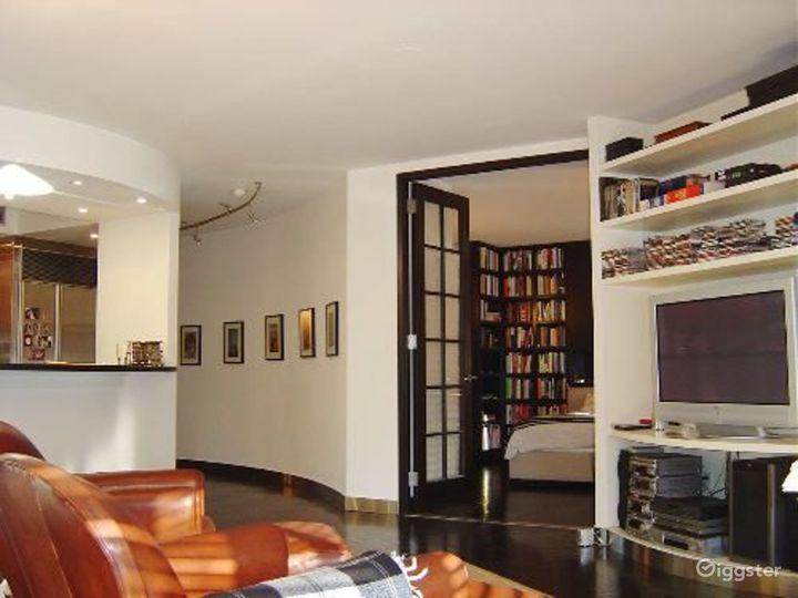 Contemporary NY apartment: Location 4041 Photo 5
