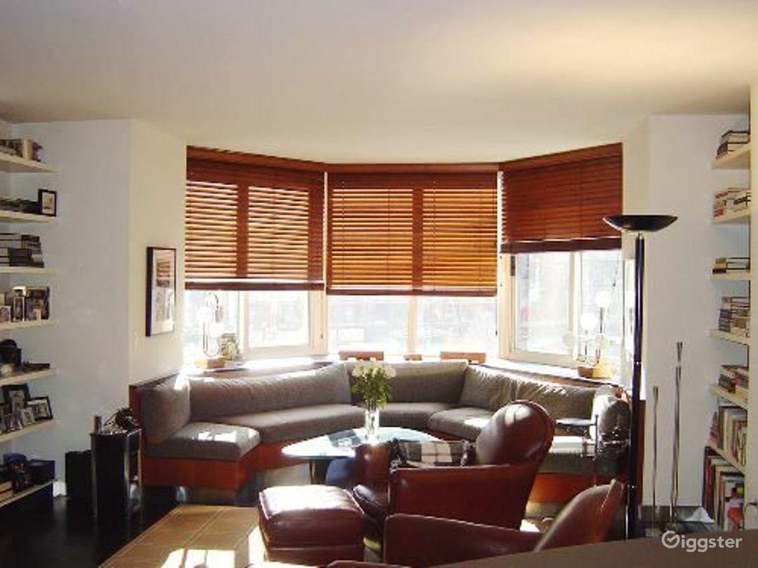 Contemporary NY apartment: Location 4041 Photo 1