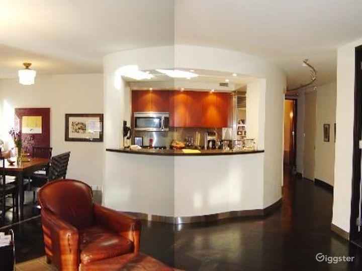 Contemporary NY apartment: Location 4041 Photo 3