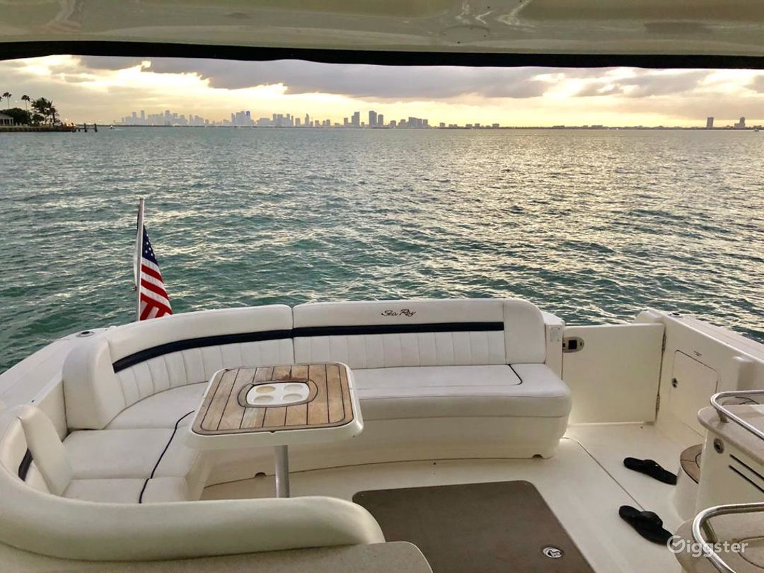 Spectacular 44FT SEA RAY Party Yacht Space Events Photo 1
