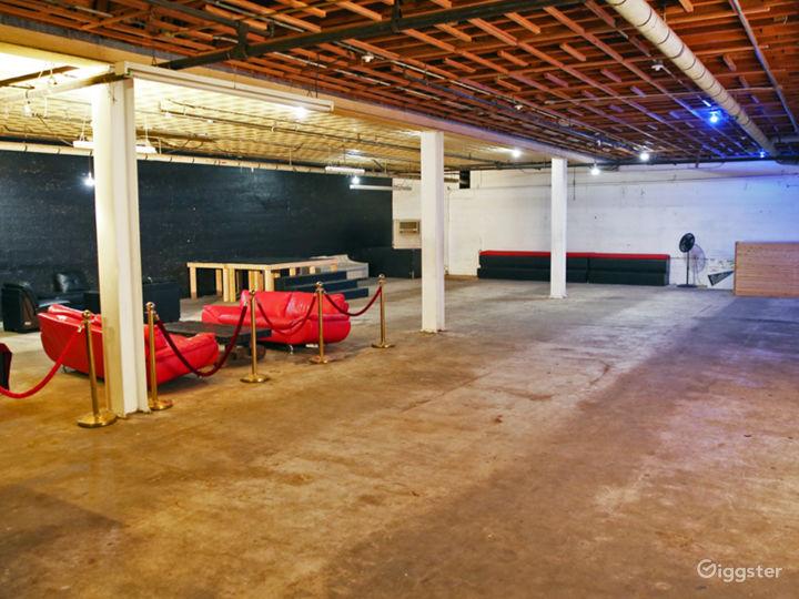 The Boiler Room - Discreet Underground Warehouse