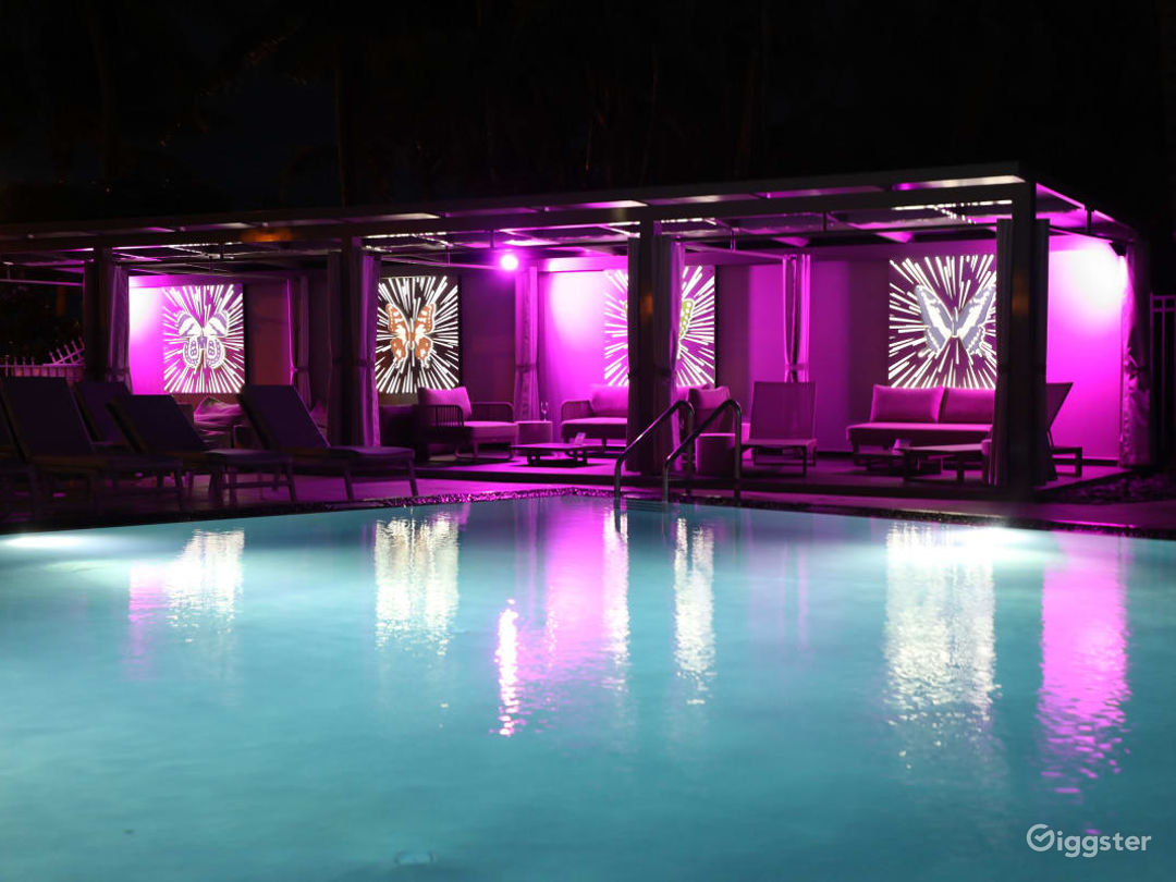 Butterfly Cabanas in Miami Beach Photo 1