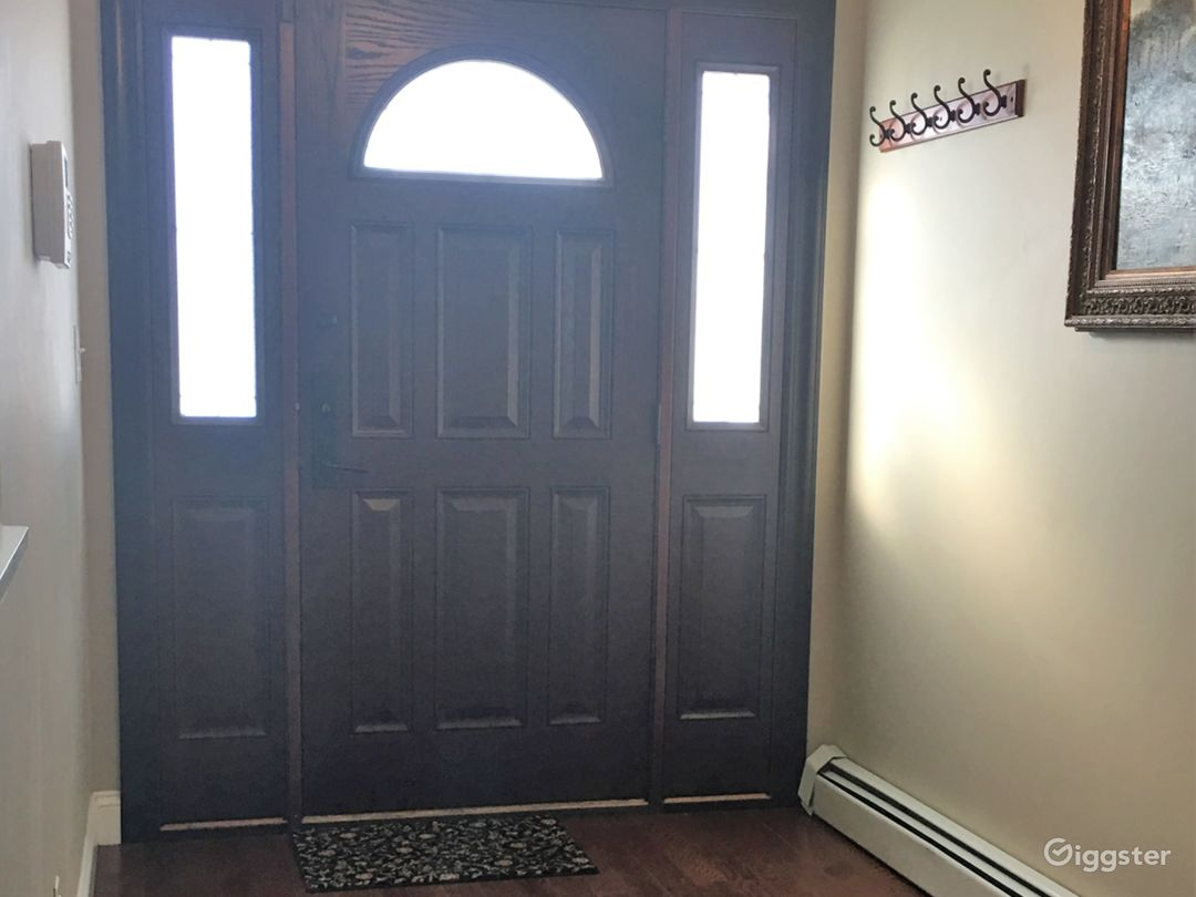 Front door and foyer
