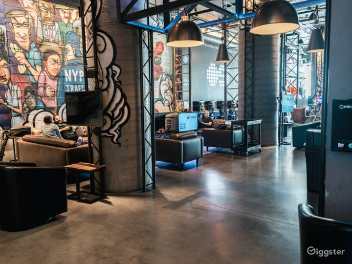 6000 SQ FT Event Space + Video Gaming Venue