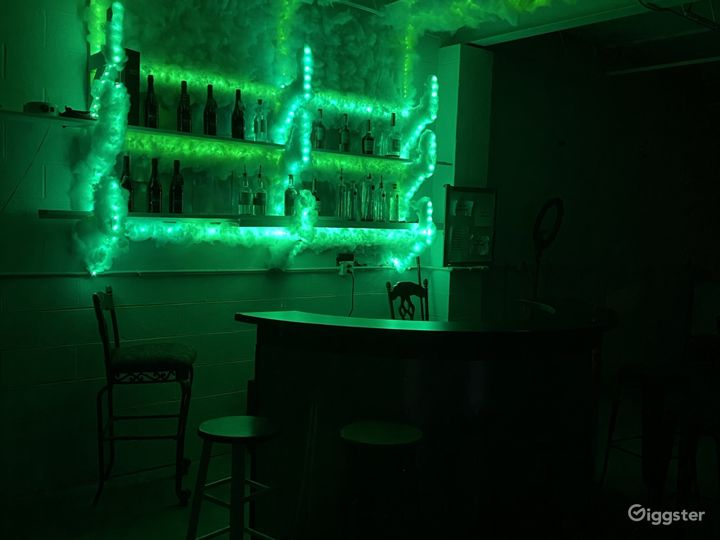 Bar and hookah if need for a event.