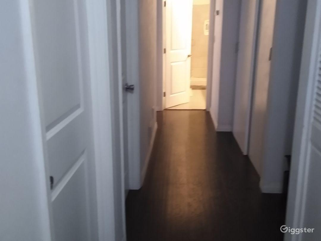 Hallway, Bedroom Entrances