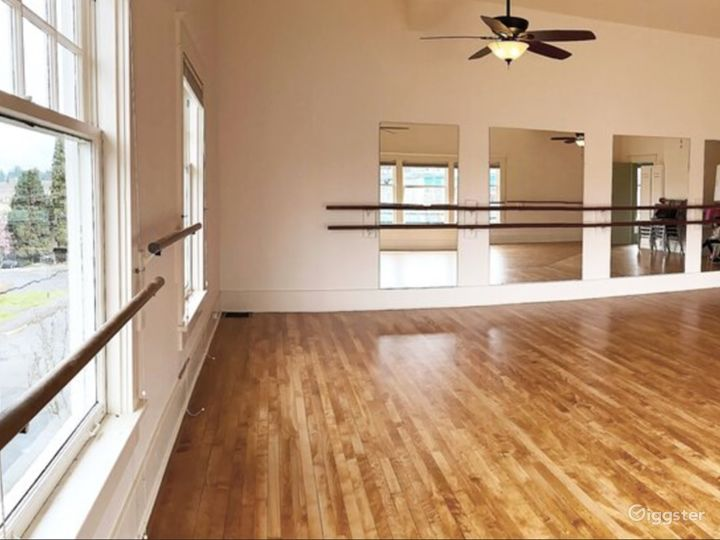 Large Dance Studio in Downtown Olympia Photo 2