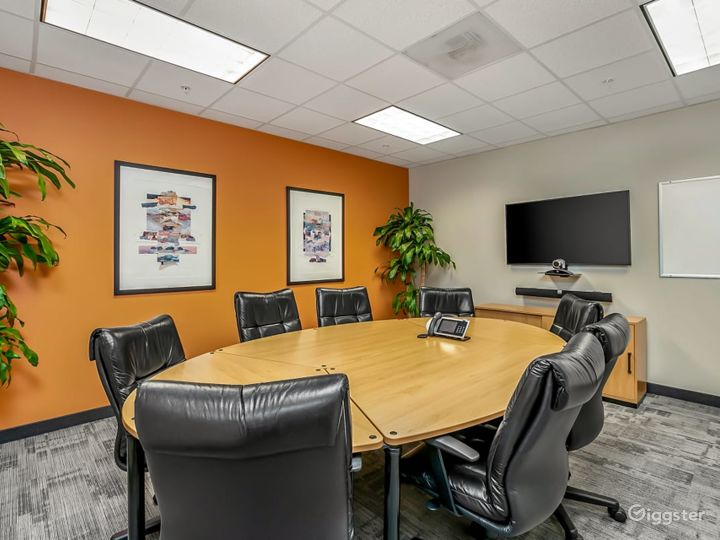 Furnished Training Room in Charlotte
