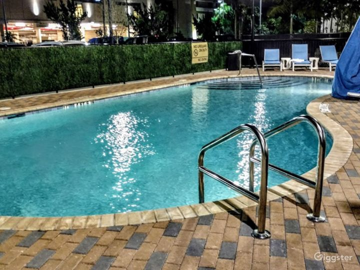 Outdoor Pool Space in Miami