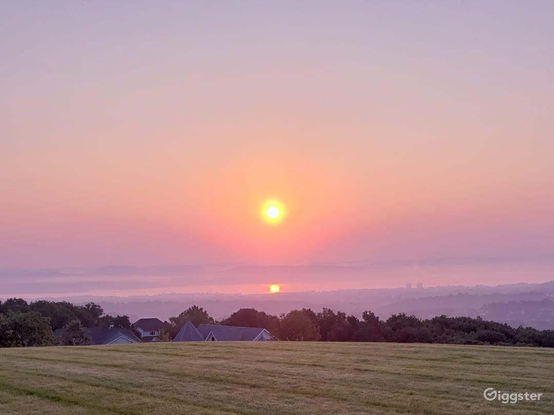 Sunrise on the Hudson