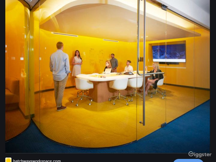 Sleek Meeting Room Photo 2