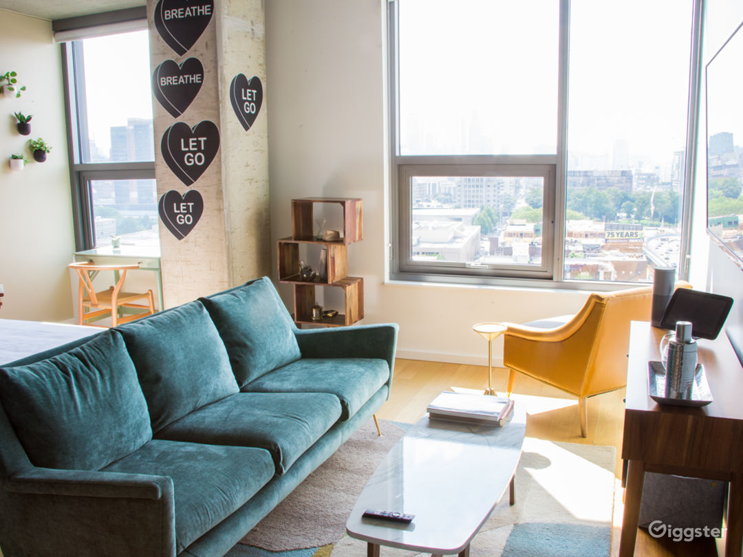 Trendy Philly Penthouse Photo 1