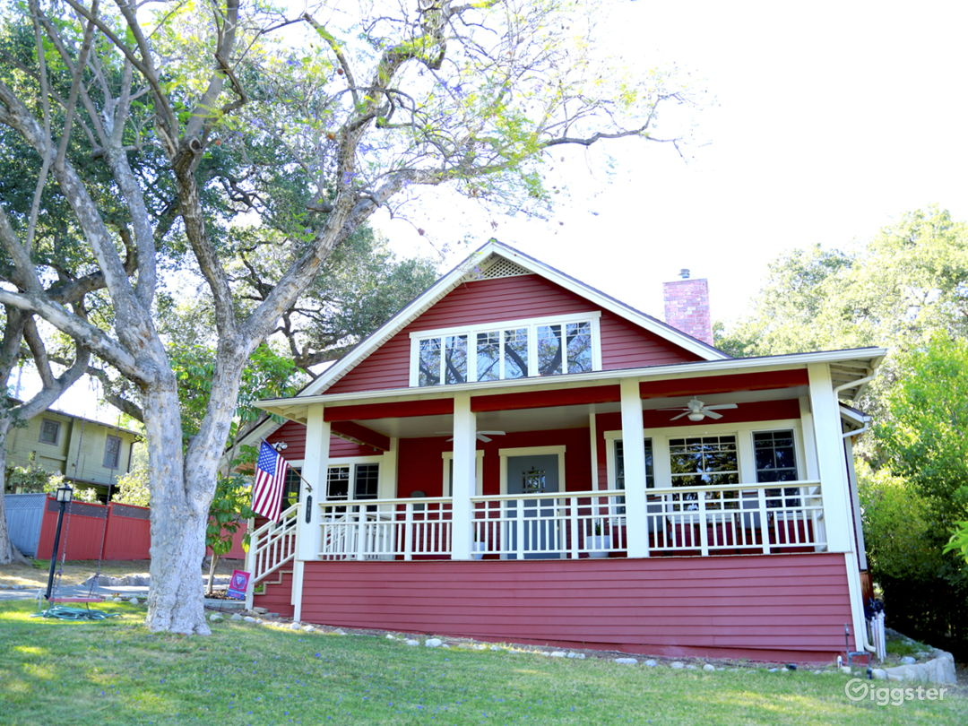 Gorgeous Red Craftsman / Farm House • Sierra Madre Photo 1