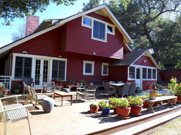 Gorgeous Red Craftsman / Farm House • Sierra Madre Photo 3