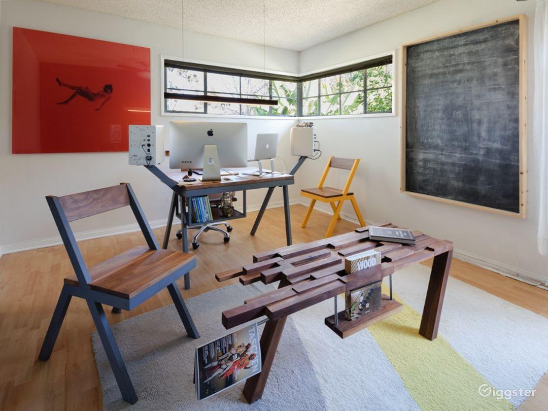 Unique Home with Unique Furniture and Airstream Photo 5