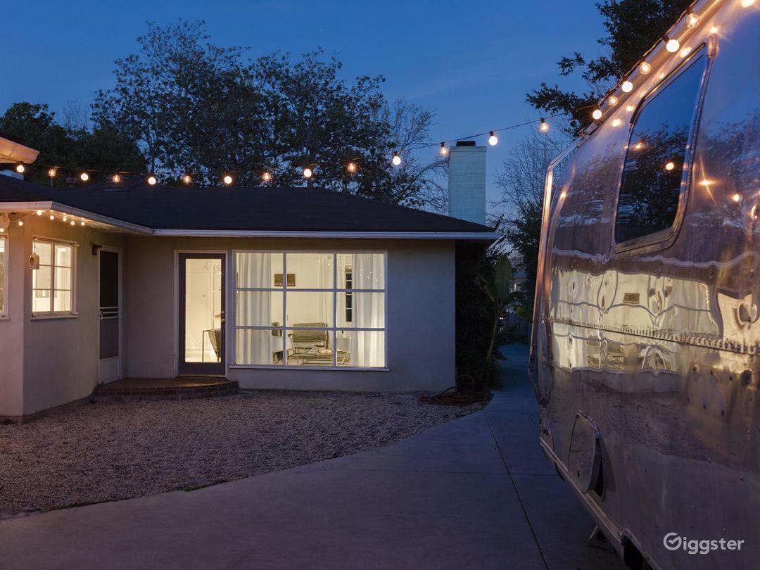 Unique Home with Unique Furniture and Airstream Photo 2