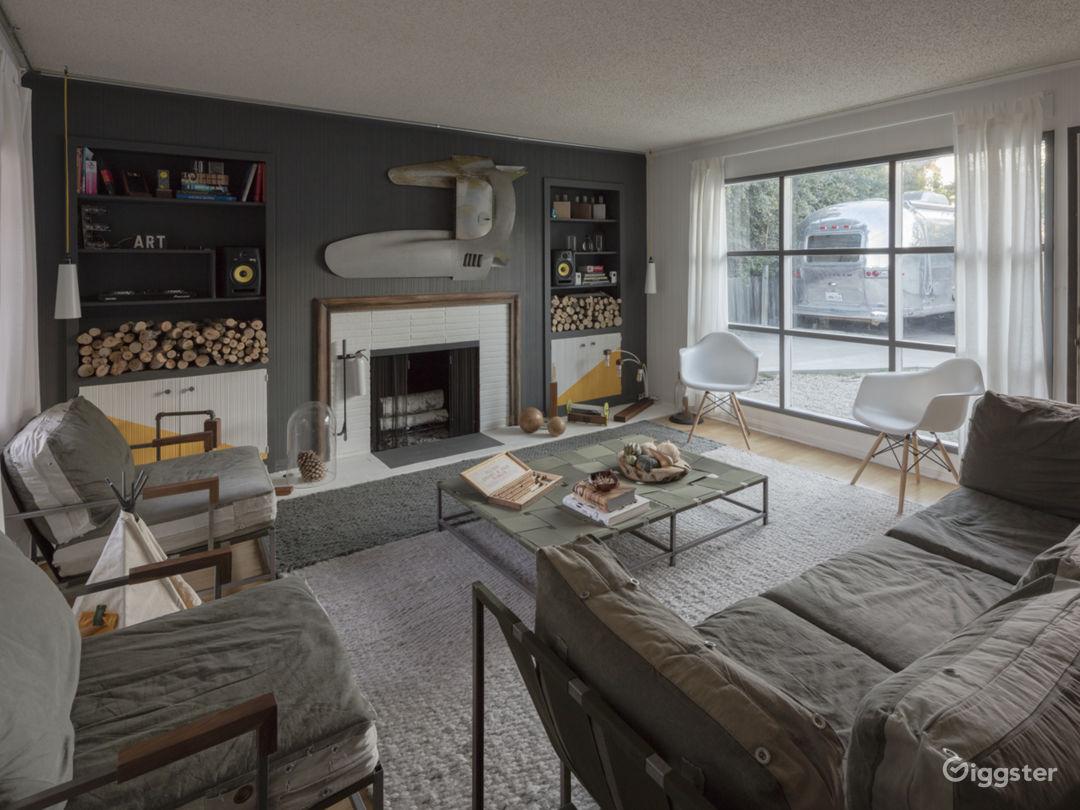 Unique Home with Unique Furniture and Airstream Photo 1