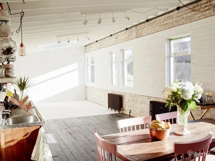 Bright and Aesthetic Studio in London