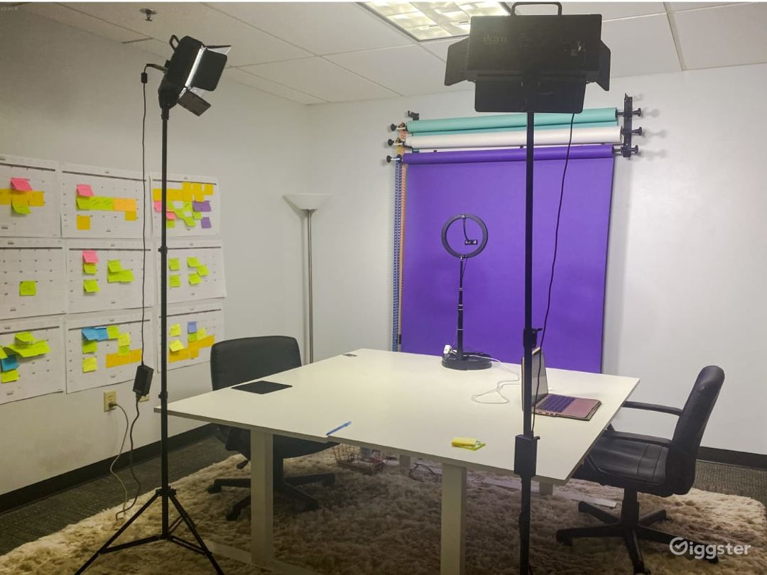 Recording Room for Videos & Live Streaming Photo 1