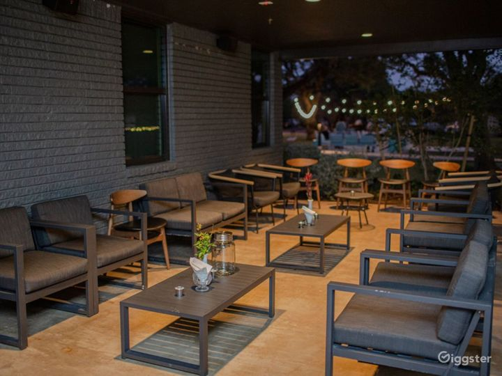 Stylish Meeting Boardroom and Covered Patio Photo 2