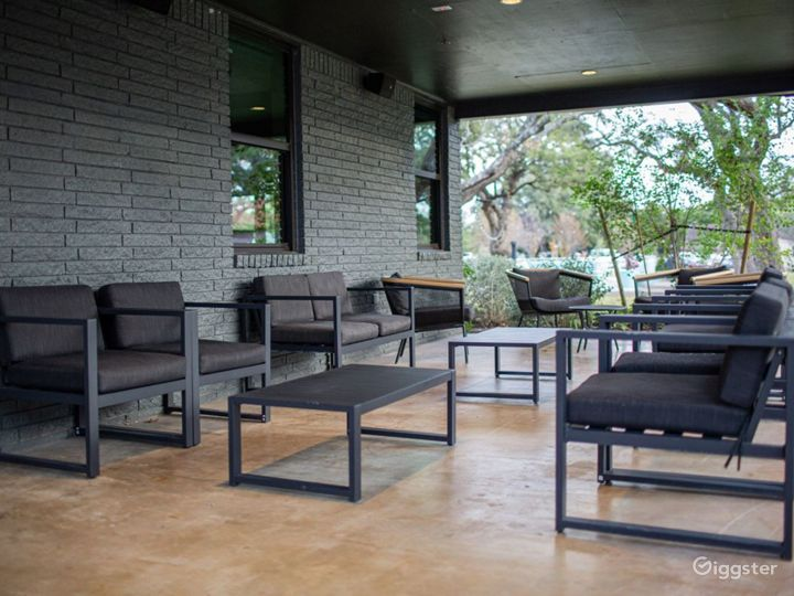 Stylish Meeting Boardroom and Covered Patio Photo 4