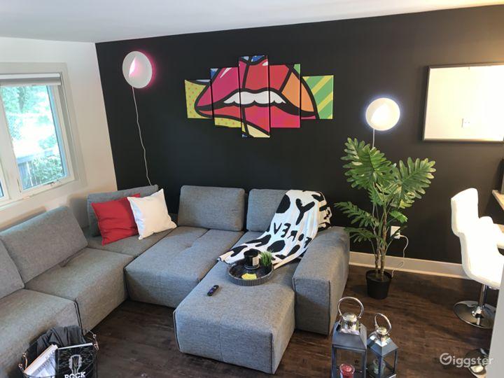 Modern Pop Art High Tech two-story townhome  Photo 3