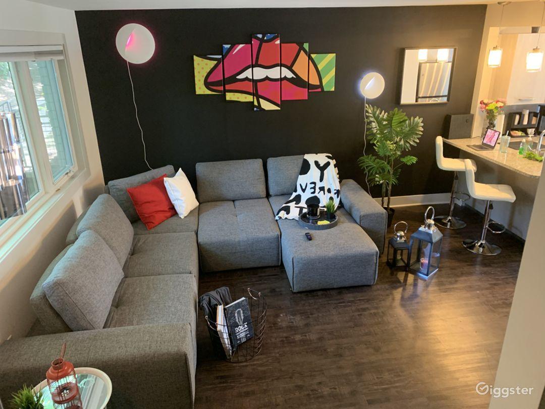 Modern Pop Art High Tech two-story townhome  Photo 1
