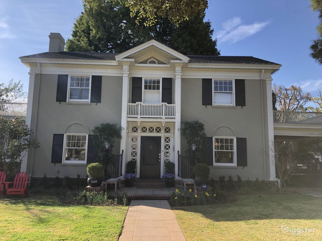 1920's 2-story Greek Revival Home Photo 1