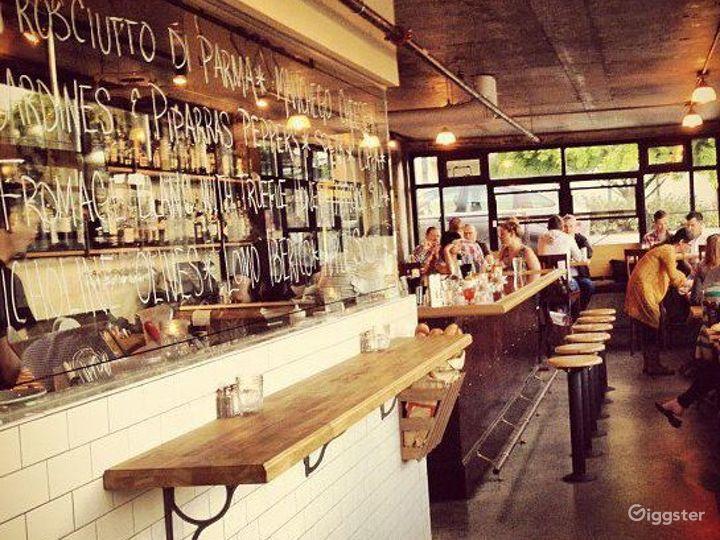 Classic Capitol Hill Rustic Hideaway Bar