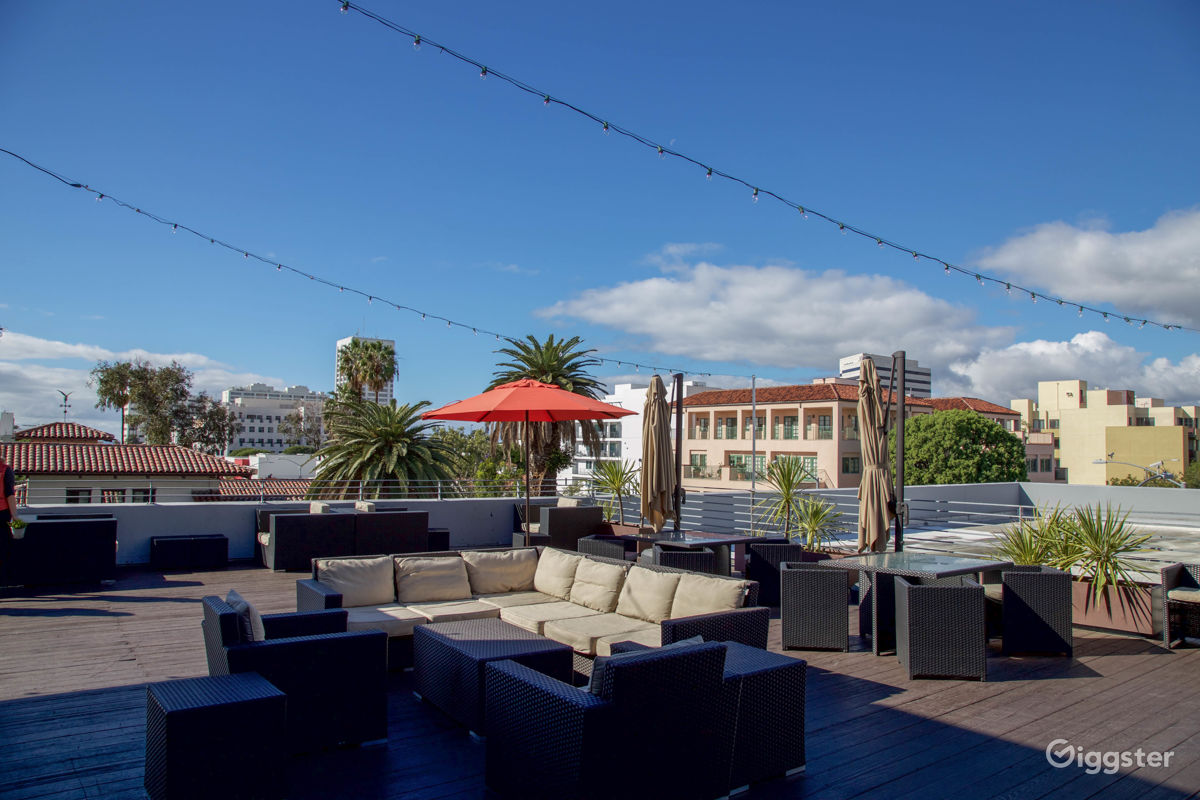 Rent The Event Space/Rooftop, Office(commercial) Santa Monica Rooftop Patio  For