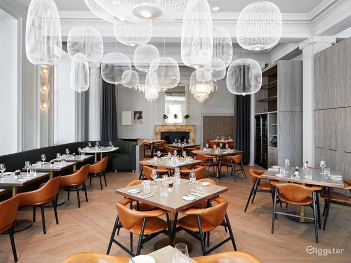 Fancy & Modern Scottish Restaurant in Glasgow Photo 2