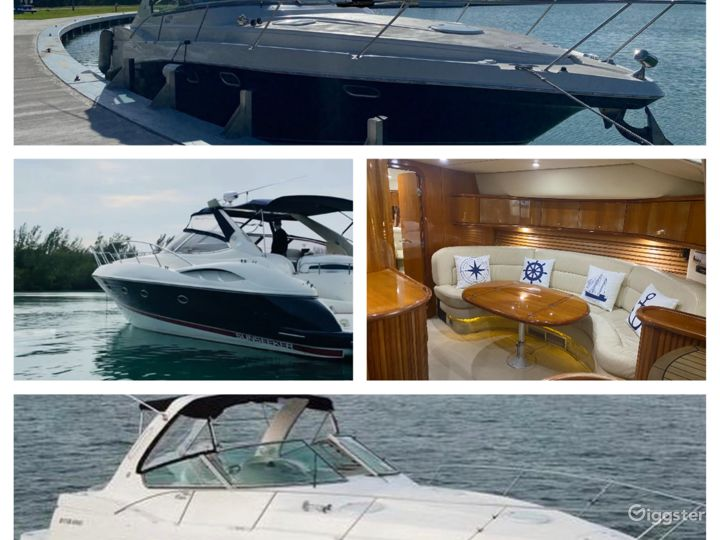 Remarkable 45FT SEA RAY SUNSEEKER Party Yacht Space Events  Photo 5