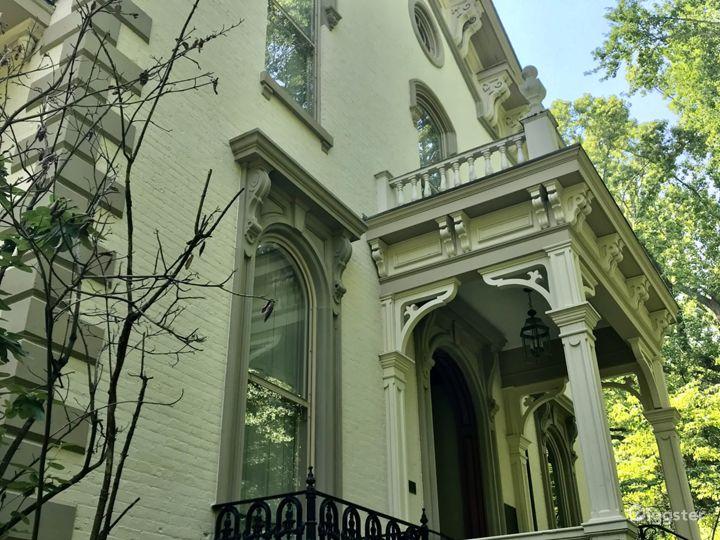 Another shot of front door and balconies