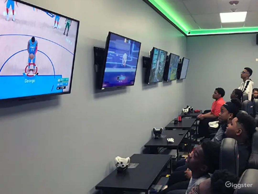 State of the Art Gaming Room Photo 1
