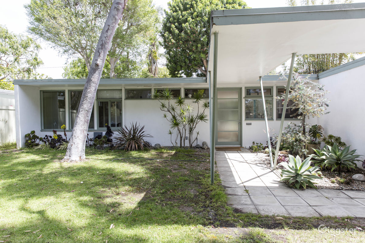rent architect mid century modern house house residential for film