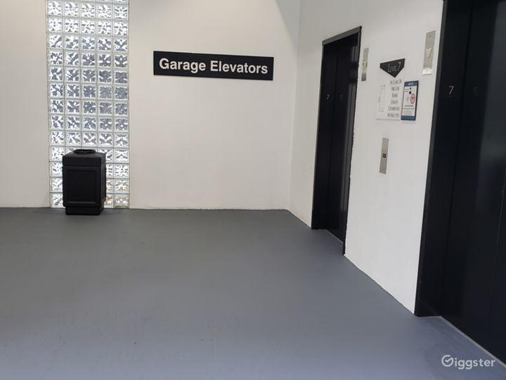clean elevator lobbies
