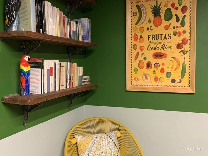 Bright and tropical Spanish vibe workspace Photo 5