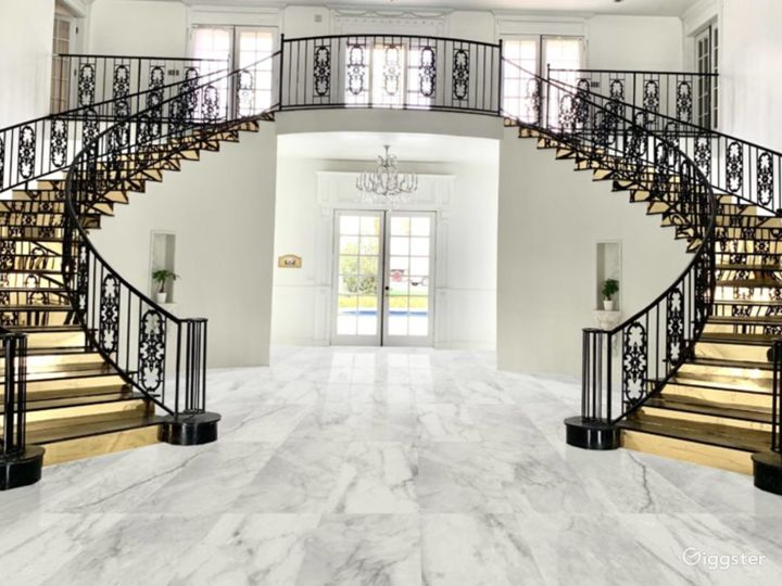 A Grand Staircase Venue for Special Events