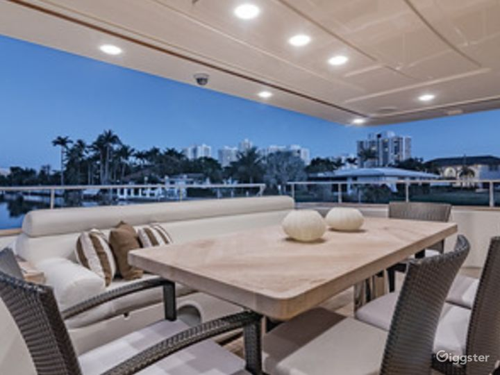 Gigantic, Extra-Ordinary 97FT FERRETTI with Jetski Included Party Yacht Space Events  Photo 2