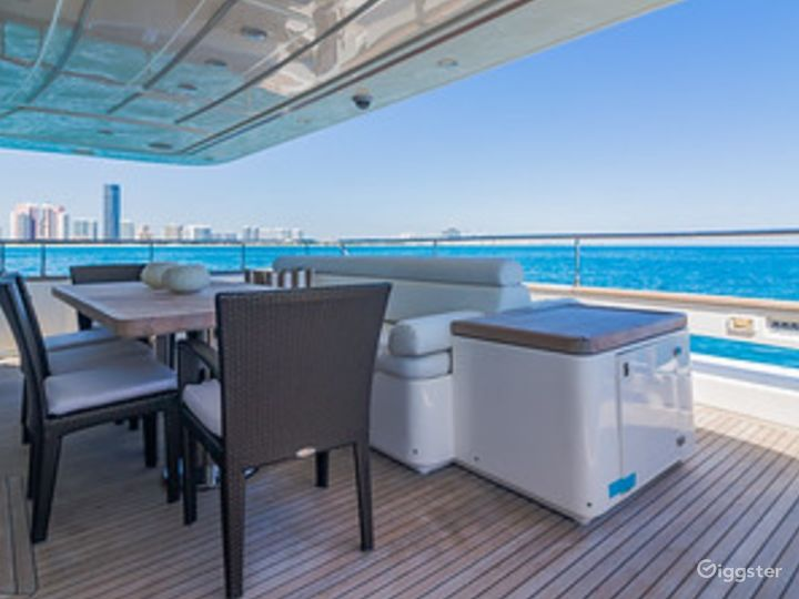 Gigantic, Extra-Ordinary 97FT FERRETTI with Jetski Included Party Yacht Space Events  Photo 3