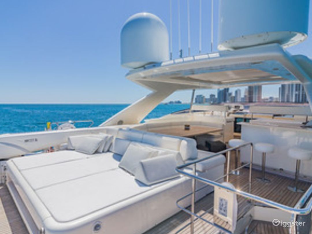 Gigantic, Extra-Ordinary 97FT FERRETTI with Jetski Included Party Yacht Space Events  Photo 1
