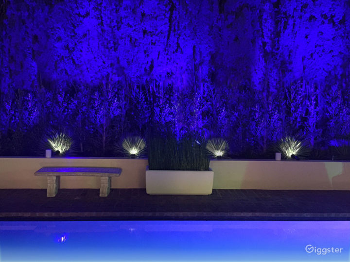 Outdoor lighting and landscaping