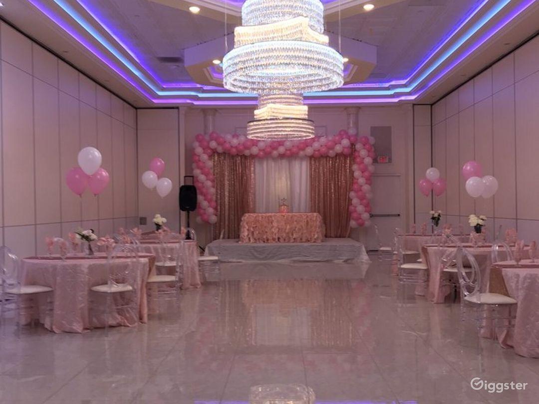 Colorful Ballroom in Newark Photo 1